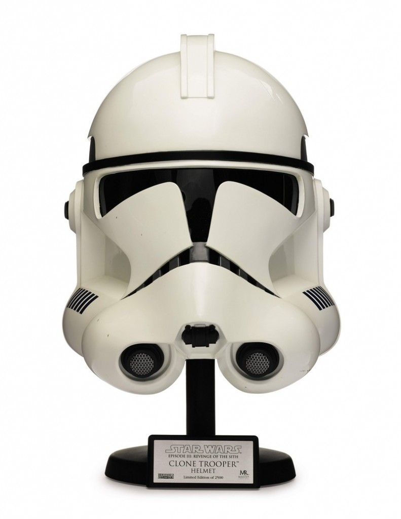 star-wars-revenge-of-the-sith-clonetrooper-helmet-master-replicas-2005- The First Auction of Star Wars Collectibles at Sothebys