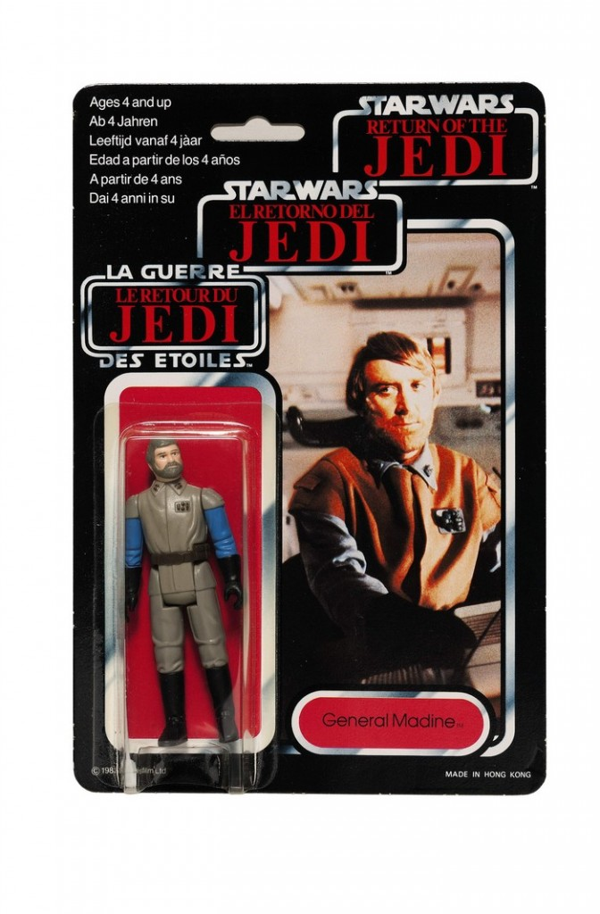 star-wars-tri-logo-general-madine-action-figure-1983-The First Auction of Star Wars Collectibles at Sothebys