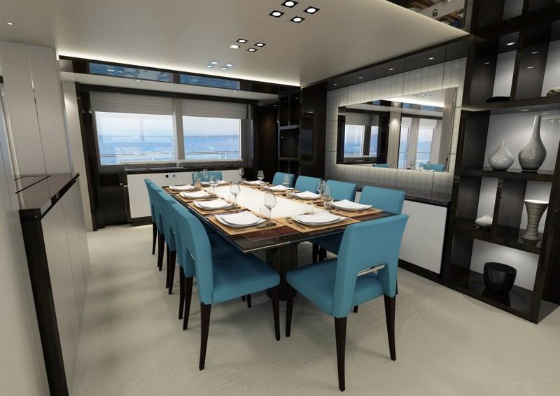sunseeker 131 yacht interior