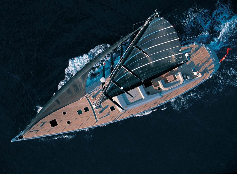 superyacht birdseyeview