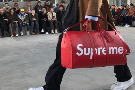 Two for one: Louis Vuitton presents collaboration with skater label Supreme