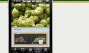 sustainable food app