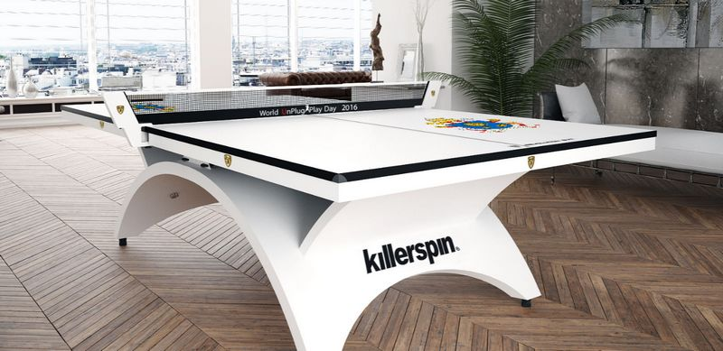 table tennis luxury table - Meet Pope Francis at the Vatican via IfOnly - Killerspin Package