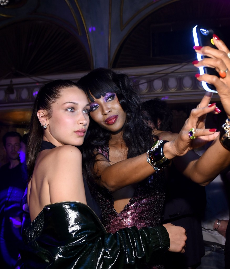 taschen naomi campbell limited edition book launch-bella hadid - naomi campbell