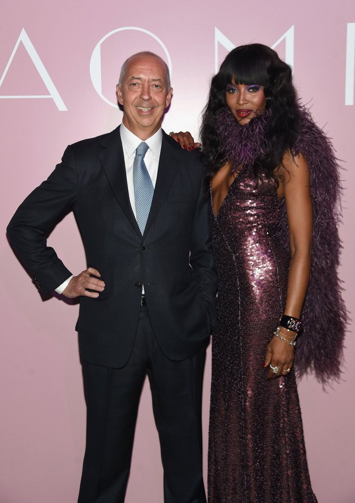 taschen naomi campbell limited edition book launch-benedikt taschen and naomi campbell