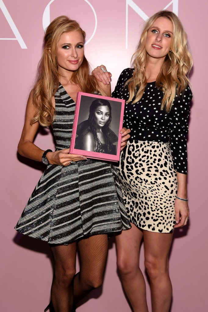 taschen naomi campbell limited edition book launch-paris and nicky hilton
