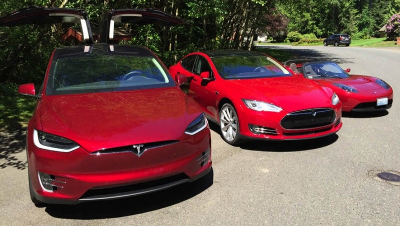 tesla model x joins the family