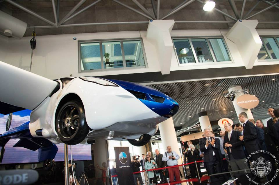 the AeroMobil, the world's most advanced prototype of a flying car-top marques monaco