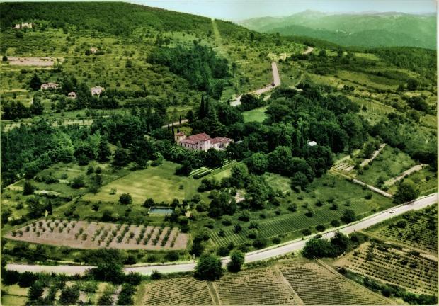 the Chateau de la Colle Noire Grasse France