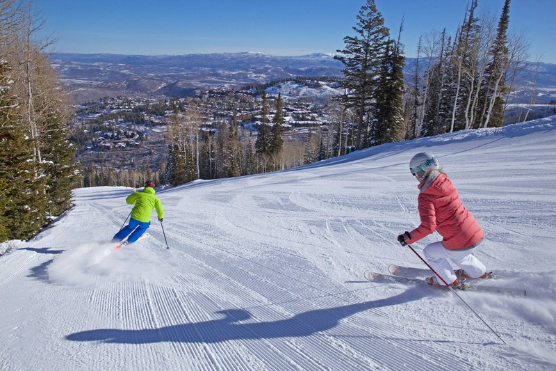 the benefits of first chair at Deer Valley Resort