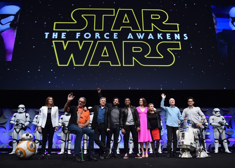 the force awakens2015