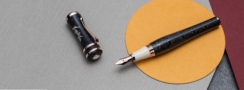 the new Sophia Loren Icons pen, only from Montegrappa
