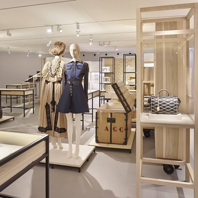 the newly opened Louis Vuitton Galerie in Asnières