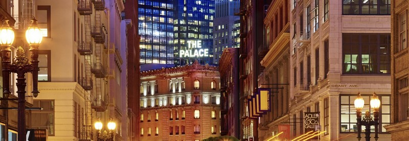 the palace SF
