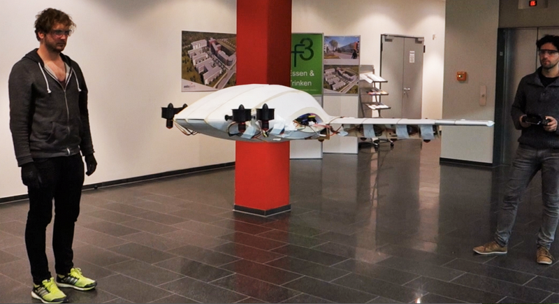 the world's first vertical takeoff and landing aircraft for use in everyday life-lab tests