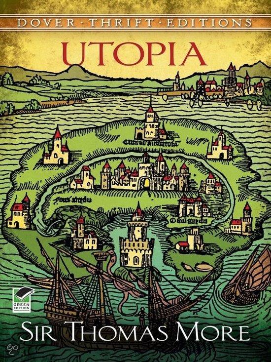 thomas more utopia cover