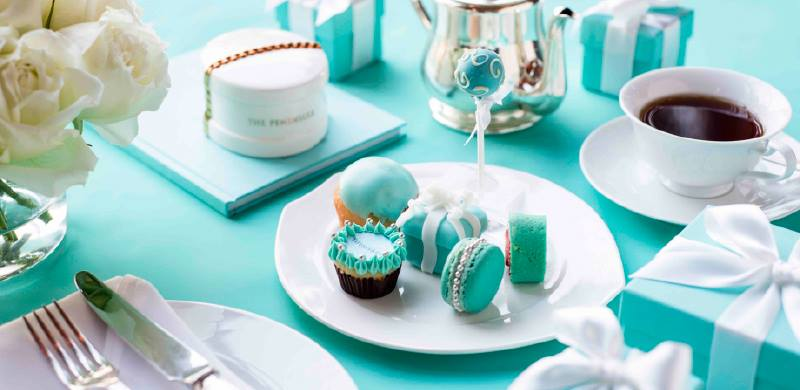 tiffany afternoon tea - the peninsula bangkok thailand-