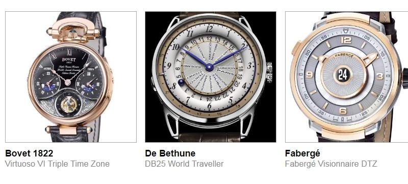 timepieces pre-selected for Grand Prix d'Horlogerie de Geneve 2016 - GPHG