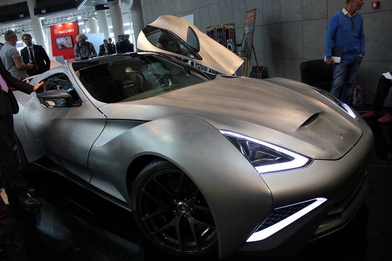 top marques monaco 2016 - supercar in titanium