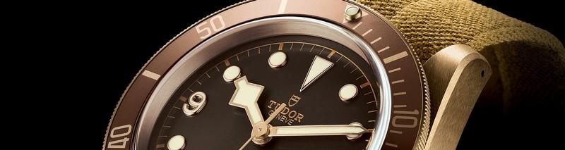 tudor heritage watches - black bay bronze watch 2016 model