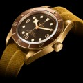 tudor heritage watches - heritage black bay bronze watch 2016