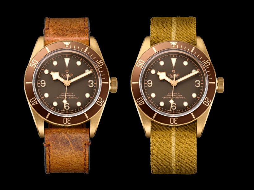 tudor heritage watches - heritage black bay bronze watch 2016 models-