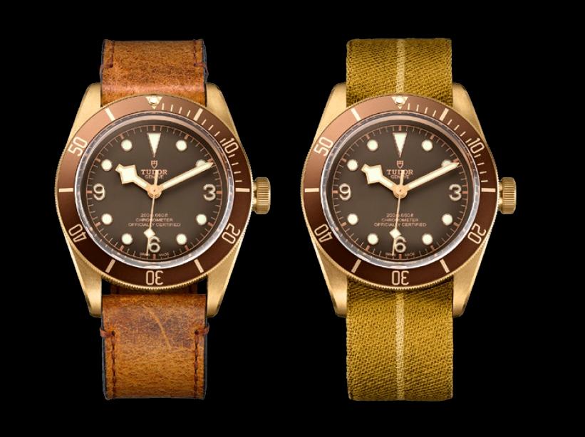 tudor heritage watches - heritage black bay bronze watch 2016 models-