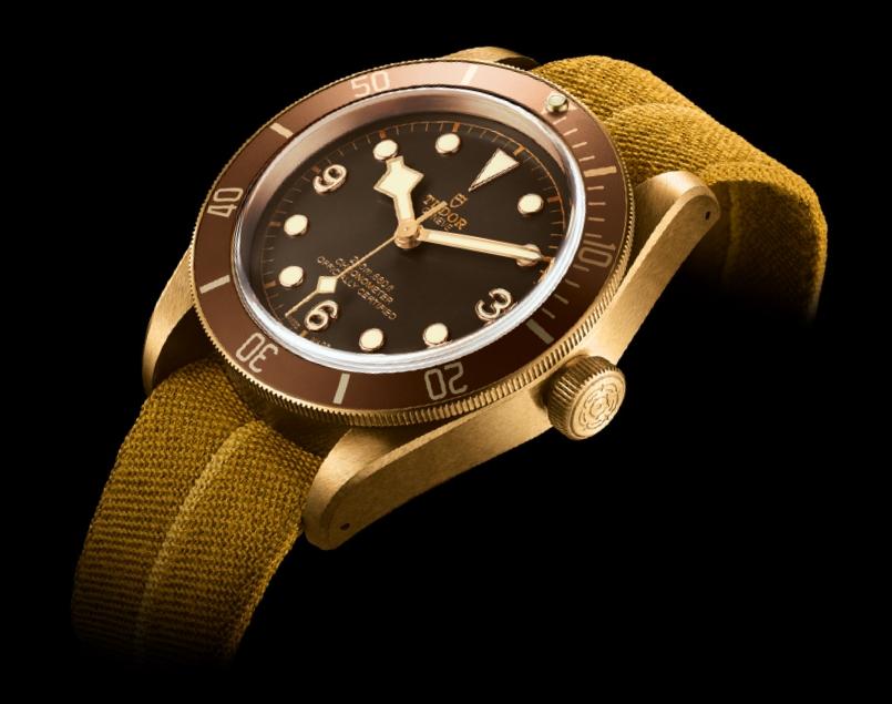 tudor heritage watches - heritage black bay bronze watch 2016