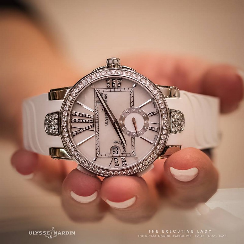 ulysse-nardin-executive-lady-luxury Swiss watch