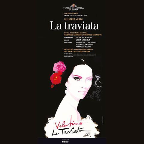 valentino costumes for LaTraviata opera - 2016 Rome