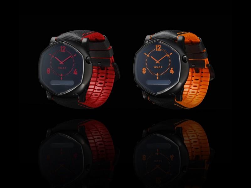 veldt Kyoto Denim collection 2016 - smartwatches