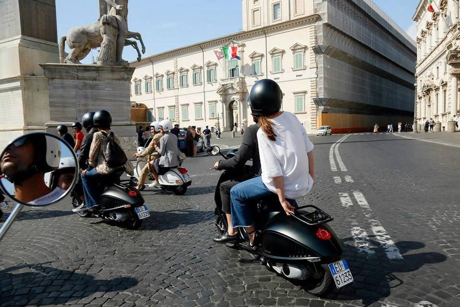 vespa 946 Emporio Armani launch in Rome - June 2015-
