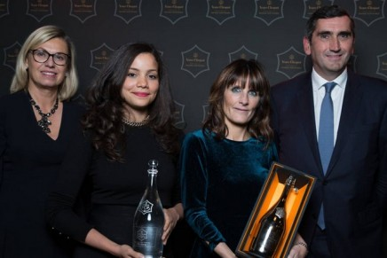 The winner of the 44th edition of the prestigious Veuve Clicquot Business Woman Award