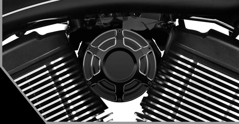 victory motorcycles - Magnum X-1 Stealth Edition - Victory Beveled Collection