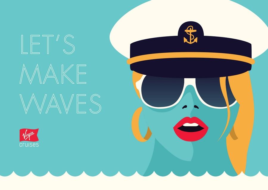 virgin cruises - let's make waves