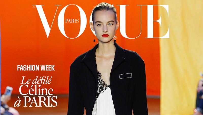 vogue paris fashionweek 2015  - ss2016