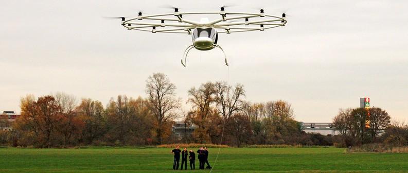 volocopter 2016 revolutionary transportation - e-multicopter 2016-