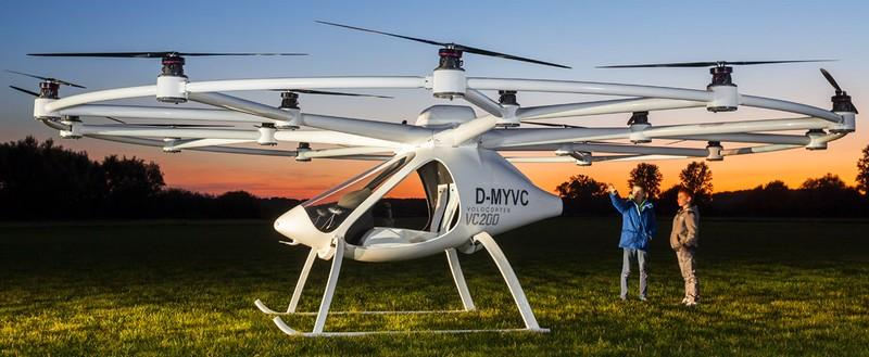 volocopter 2016 revolutionary transportation - e-multicopter 2016