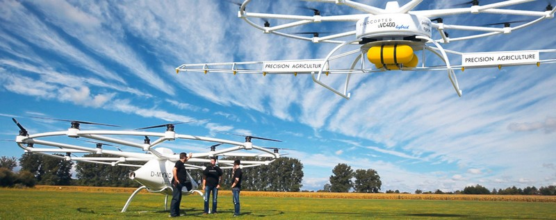 volocopter 2016 revolutionary transportation - e-multicopter