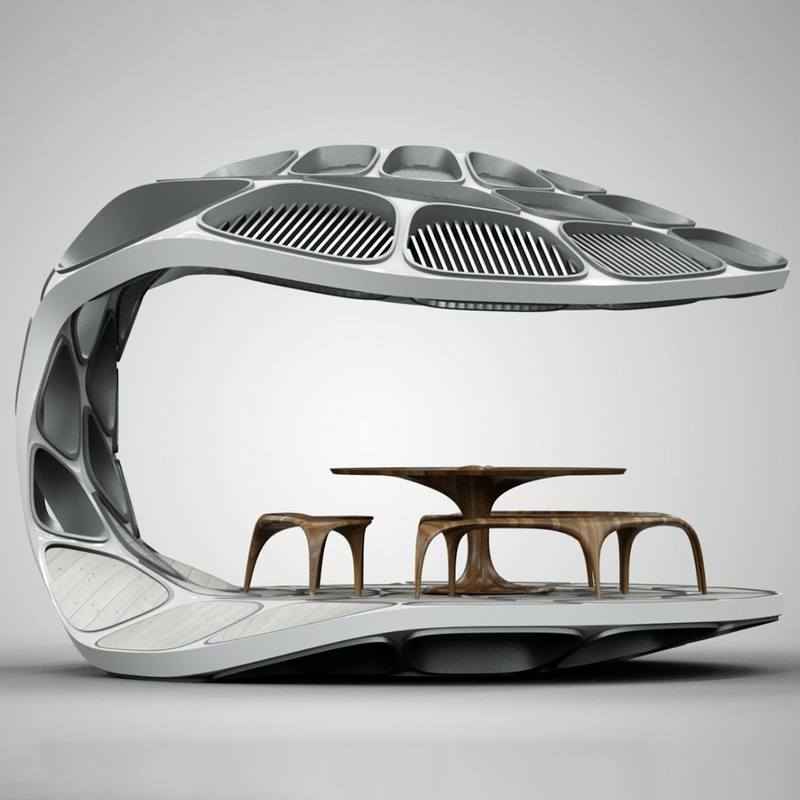 volu dining pavilion design miami 2015-