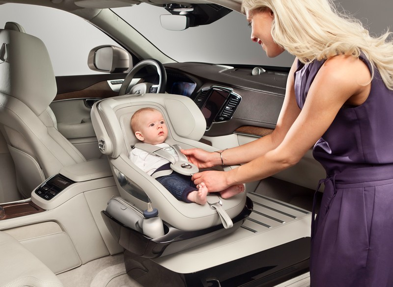 volvo Excellence Child Seat concept 2015-