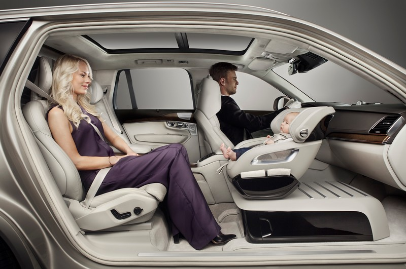 volvo Excellence Child Seat concept 2015--