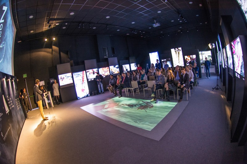 volvo ocean race museum - Volvo Ocean RaceZoom In exhibition-