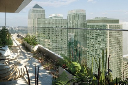 London's highest botanical gin garden goes on sale