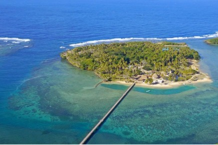 Ultra-exclusive island in the South Pacific at auction