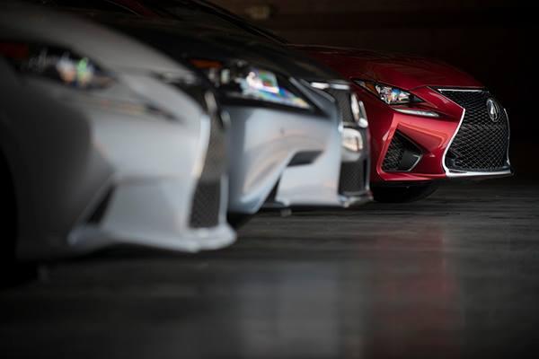 where you park your Lexus