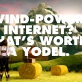 wind-powered internet