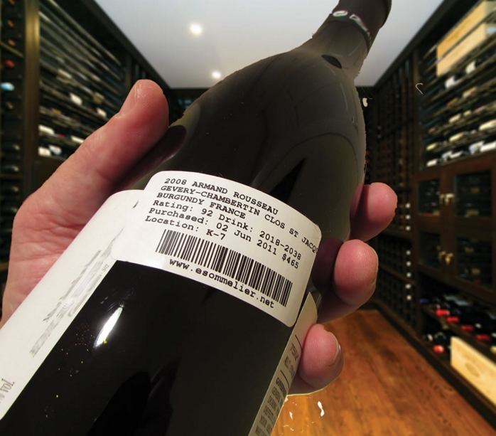 wine cellar wine management project