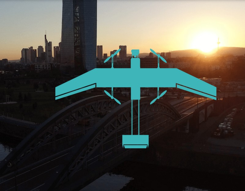 wingcopter high speed hybrid drone--