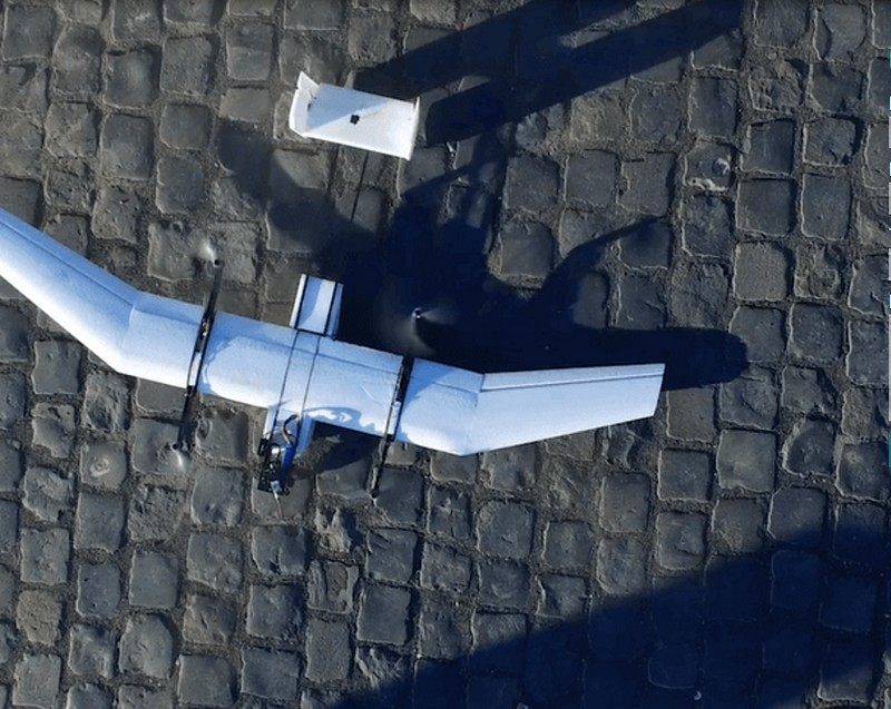 wingcopter high speed hybrid drone